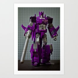 """Cyclonus The Warrior"" Art Print"