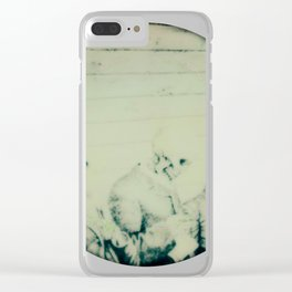 Calling All Skeletons No.6 Clear iPhone Case