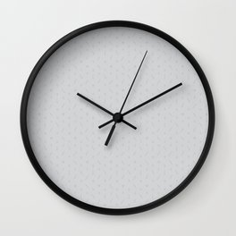 Claymore 7 Pattern - Light Grey Wall Clock