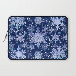 Snowflakes #3 Laptop Sleeve