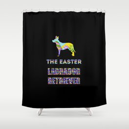 Labrador Retriever gifts   Easter gifts   Easter decorations   Easter Bunny   Spring decor Shower Curtain