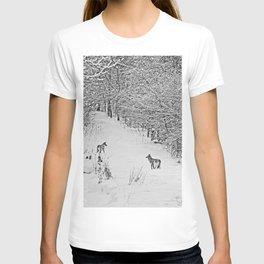 Coyotes Art Decor. T-shirt