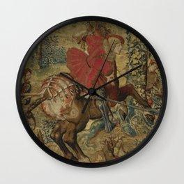 Hunt of Maximilian 2 Wall Clock