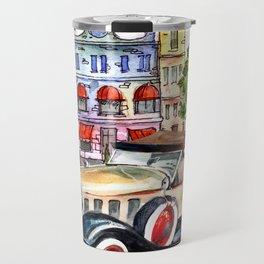 Retro car Travel Mug