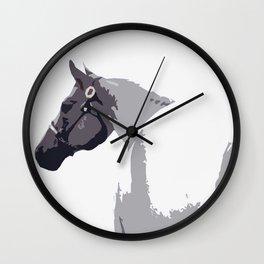 Sassy Horse Wall Clock