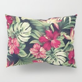 Night tropical garden Pillow Sham