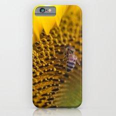 Busy Bee - Sunflower Macro Slim Case iPhone 6