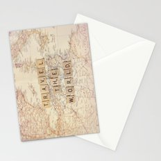 travel the world Stationery Cards