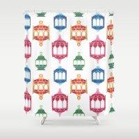 islam Shower Curtains featuring Fanous by haidishabrina