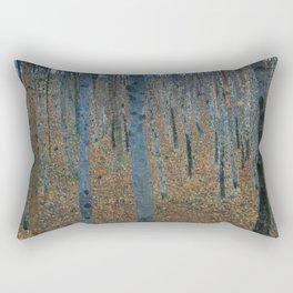 Gustav Klimt - Beech Grove Rectangular Pillow