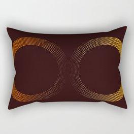 Minimal Retro Infininite Rectangular Pillow