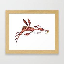 Sea Horse Framed Art Print