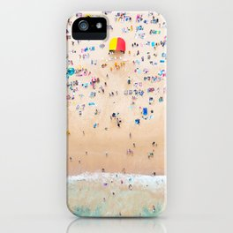 Beach Aerial View iPhone Case