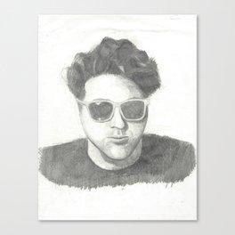 brett Canvas Print
