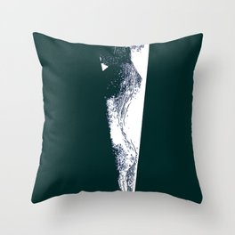 In the Shower Throw Pillow