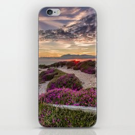Headon Hill Sunset Isle Of Wight iPhone Skin