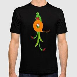 q for quetzal T-shirt