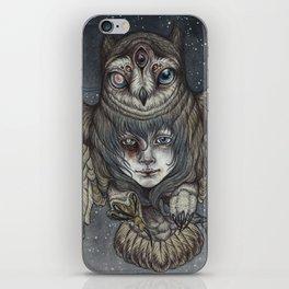 Ghosts in the Night iPhone Skin