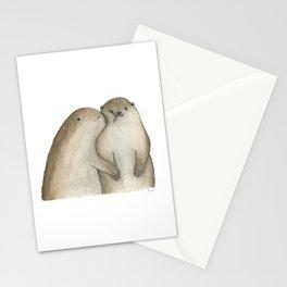 I otterly love you!!! Stationery Cards