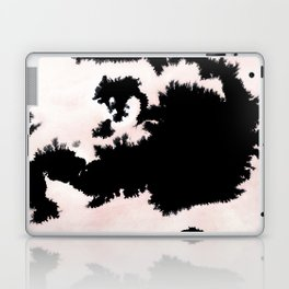 black, white and pink abstract 25 Laptop & iPad Skin