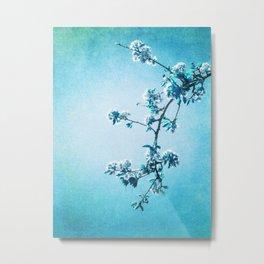 BLUE SPRING Metal Print