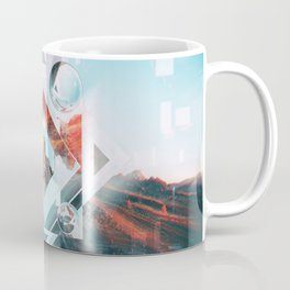Abstract Geometric Collage I Coffee Mug