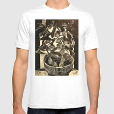 Plant Mens Fitted Tee MEDIUM White