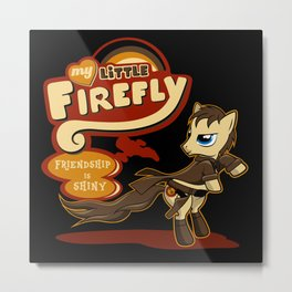 My Little Firefly Metal Print