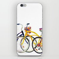 bikes iPhone & iPod Skins featuring bikes by takmaj