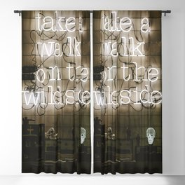 Take a Walk on the Wild Side Blackout Curtain