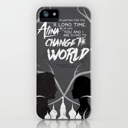 What I Showed You In The Dark iPhone Case