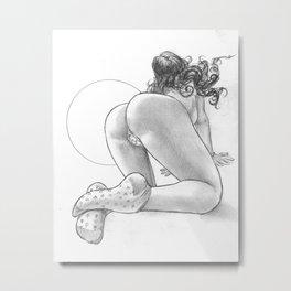 pose5 Metal Print