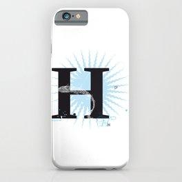 H like Heidi, Harry, Halloween… iPhone Case