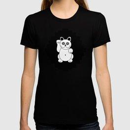 White Cat For Good Luck T-shirt