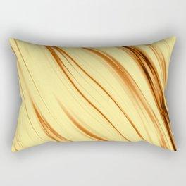 The art of fiery gold Rectangular Pillow
