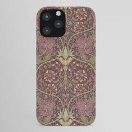 William Morris,Art Nouveau,Vintage pattern, floral victorian pattern, iPhone Case