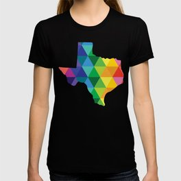 Geometric Galaxy - All the Colors of the Rainbow T-shirt