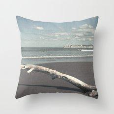 Poverty Bay Throw Pillow