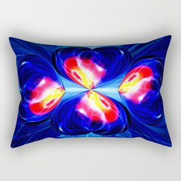 Abstract in perfection - Hearts Rectangular Pillow
