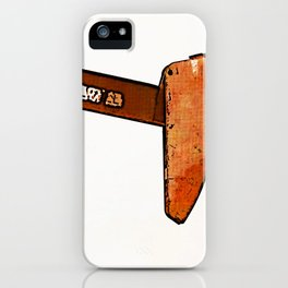 West Texas Pumpjack iPhone Case
