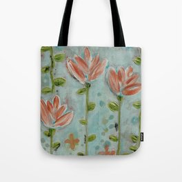 Flowering vines Tote Bag