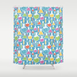 Science Laboratory Shower Curtain