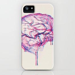 3D Brain iPhone Case