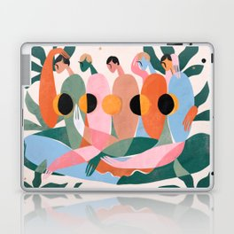 Lunar cycle Laptop & iPad Skin