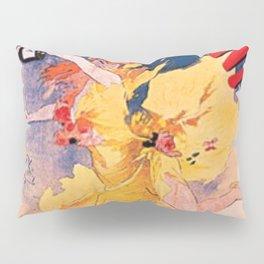 Vin Mariani 1894 By Jules Cheret | Reproduction Art Nouveau Pillow Sham