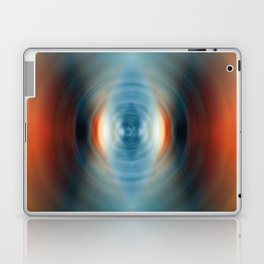 Vitality - Energy Abstract Art by Sharon Cummings Laptop & iPad Skin