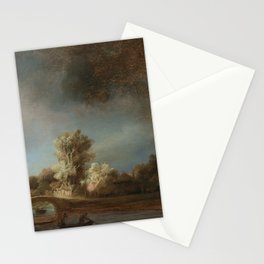 Rembrandt - The Stone Bridge Stationery Cards