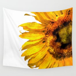 Simply a sunflower  Wall Tapestry