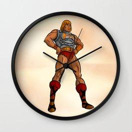 MOTU Battle Armor He-Man Wall Clock