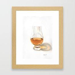 Glencairn Bourbon Glass Framed Art Print